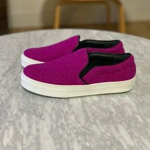 New Celine Slip-on Wool Sneakers